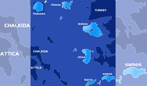 Griechenland: Die Ostaegaeis