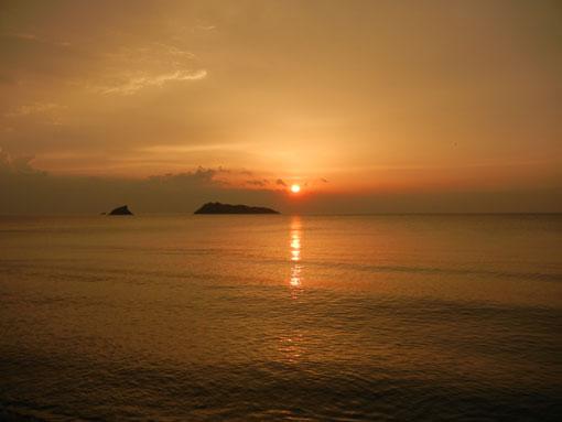 Griechenland: Traumhafte Sonnenuntergänge